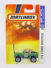 Matchbox '72 FORD BRONCO 4x4 2007 #58 *55th ANNIVERSARY EDITION* 1:57 MB720