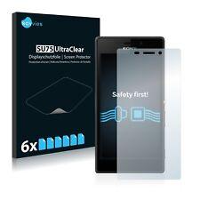 6x Film Protection écran pour Sony Xperia M2 Dual Protecteur