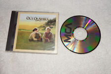 CD : Out of Africa soundtrack (1986) Made in Japan
