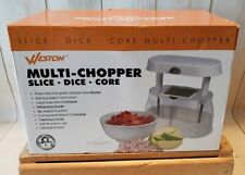 Weston Fruit & Veggie Multi-Chopper (83-2014-W) w/ 3 Stainless Steel Blades