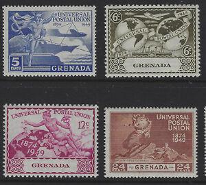Grenada SG 168 - 171 Universal Postal Union Set Mint Cat £3.00