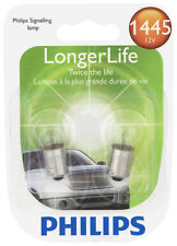 Instrument Panel Light Bulb-Longerlife - Twin Blister Pack Philips 1445LLB2