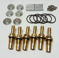 Lp Gas injector rebuild Kits. Suits AEB Fuel Rail style injectors.6 Cylinder set
