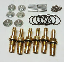 Lp Gas injector rebuild Kits. Suits AEB Fuel Rail style injectors.6 Cylinder set