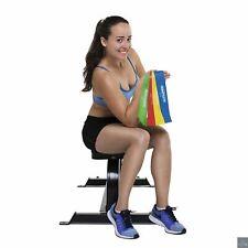 4 Bandes Élastiques Résistance Musculation Unisexe Fitness Yoga Pilates Crossfit