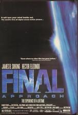 "FINAL APPROACH - 27""x40"" Original Movie Poster One Sheet 1991 Hector Elizondo"