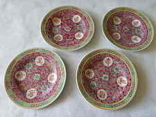 Vintage 4 Chinese Porcelain Small Plates-Yue Hwa Collections
