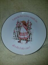 1984 Holly Hobbie Grandmother is Love Warmth Fun Rolled into one Porcelain Plate