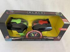 Laser Tag Set Of 2 Guns. Black Series. Brand New In Box.