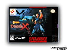 Castlevania: Dracula X - Castlevania: Vampire's Kiss SNES Super Nintendo Box New