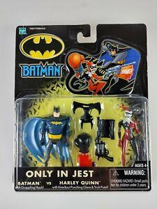 Batman Vs. Harley Quinn Only In Jest Batman Hasbro DC Comics WB 2002 NEW