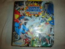 DC Super Powers Collection Action Figure Carrying case vintage Kenner 1984