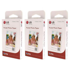 LG Zink Pocket Photo Paper Film 90 Sheets PS2203 For Printer PD221 PD233 PD239