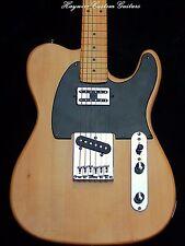 Deluxe Fender Tele+Custom Neck+12 Pole Humbucker+Treble Bleed+Warmoth Option