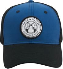 SMITH & WESSON *BLUE & BLACK MESH BACK est 1852* HAT CAP *NEW* SW117