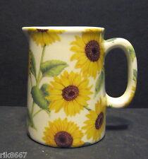 Heron Cross Pottery Sunflower Chintz English 1/4 Pint Cream Jug