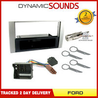 Single Din Car Stereo Fascia Wiring Harness Fitting Kit For Ford Fiesta 2006>