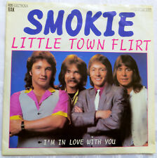 Schallplatte Single Vinyl - SMOKIE: Little Town Flirt und I'm in Love with you