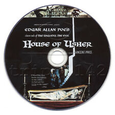 House of Usher (1960) Vincent Price Horror Movie on DVD (The fall of the...)
