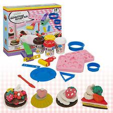 CAKE MODELLING Play Dough 19pc Kit Strumenti Accessori Set 4 vaschette Craft Moulding