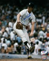 JIM KAAT SIGNED AUTOGRAPHED 8x10 PHOTO NEW YORK YANKEES PSA/DNA
