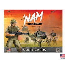 Flames of War - Vietnam: US Forces in Vietnam Unit Cards VUS901