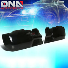 FOR 10-13 CHEVROLET CAMARO PAIR SMOKE TINTED GT STYLE ACRYLIC HEADLIGHT COVER
