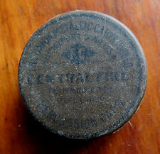 Old Union Metallic Cartridge Co Percussion Cap Tin - Central Fire - Empty