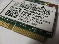 New Dell DW1705 Inspiron 15 3521 3537 3541 WiFi+Bluetooth Mini PCI-E Card C3Y4J