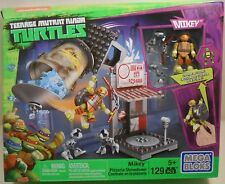 Mega Bloks TEENAGE MUTANT NINJA TURTLES Mikey 129 Pieces Building Toy Set