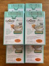 Six CatGenie Smart Cartridges SaniSolution - 60 Washes - 15 fl oz Cat Genie