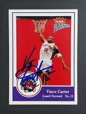 Vince Carter Fleer Platinum hand signed Autograph Card w/COA