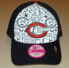 New Era Hat Cap NFL Football Chicago Bears 9forty 2014 Draft Ladies Women OSFM