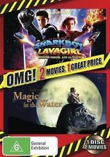 Adventures Shark Boy & Lava Girl / Magic In The Water NEW DVD Region 4 Australia