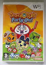 Tamagotchi Party On! Nintendo Wii Juego Nuevo Y Sellado Uk Original!