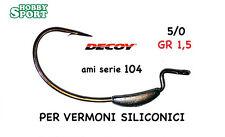 AMI PIOMBATI DECOY 104 PER VERMONI SILICONICI size  5/0