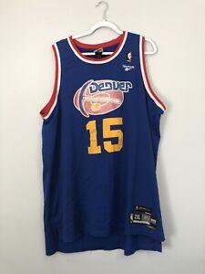 Reebok Hardwood Classics Denver Nuggets Carmelo Anthony Jersey Size 2XL (+2)