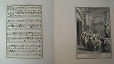 Musik von Laborde 1881 Trennwand Text und 2 Gravuren XIX. La Statuette L