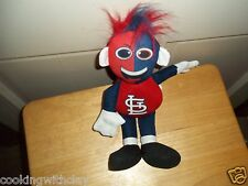 ST LOUIS CARDINALS MLB BASEBALL RALLYMEN MASCOT PLUSH DOLL FIGURE TOY