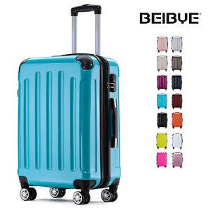 Koffer 2048 Hartschalenkoffer Trolley Kofferset Reisekoffer in Größe M-L-XL-Set