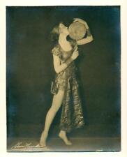 ELEGANT c 1930 FEMALE PERFORMER in COSTUME signed BARON MISSAKIAN Kansas City