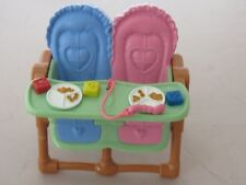 Fisher Price Loving Family dollhouse twin high chair