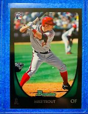 2011 Topps Bowman Draft Mike Trout Rookie Card RC #101