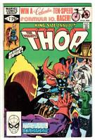 THE MIGHTY THOR KING SIZE ANNUAL 9 (VF/NM) DORMAMMU APP (SHIPS FREE ) *
