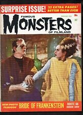 FAMOUS MONSTERS of FILMLAND #21 VG+ (THE BRIDE OF FRANKENSTEIN)  WARREN