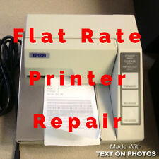 EPSON TM-U295  Flat Rate Repair including all parts & labor 6 Month Warr. M66SA