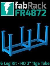 "CertiFlat FR4872 48""x72"" FabRack CNC Laser Tube 6 Leg Kit for FabBlock Tables HD"