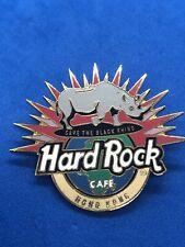 HARD ROCK CAFE PIN HONG KONG SAVE THE BLACK RHINO