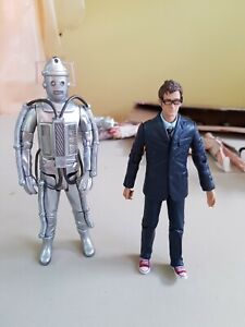 DR WHO 10th WITH CYBERMEN