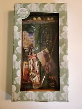Wood Golf Shadow Box Display Chesapeake Bay Ltd. New, Perfect For Fathers Day
